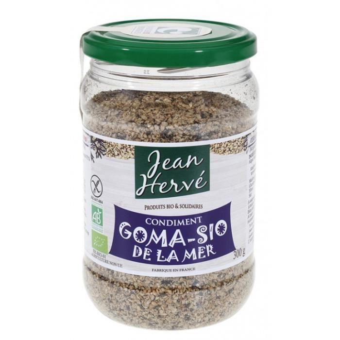 Gomasio de la mer toasté au feu de bois 300gr