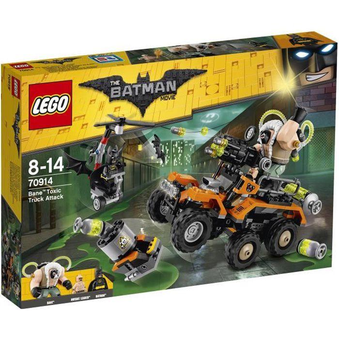 LEGO® Batman Movie 70914 L'Attaque du Camion toxique de Bane