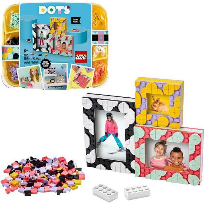 LEGO® DOTS 41914 Les Cadres Photo Créatifs, Loisirs Créatifs et Bricolage DIY, Décoration pour Chambre, pour Enfant