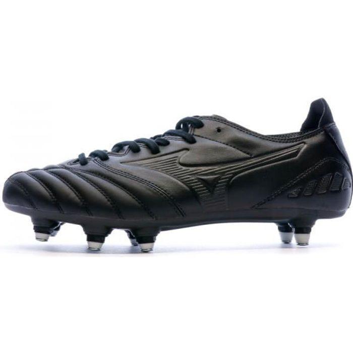 Chaussures de foot noires homme Mizuno Morelia Neo III Pro