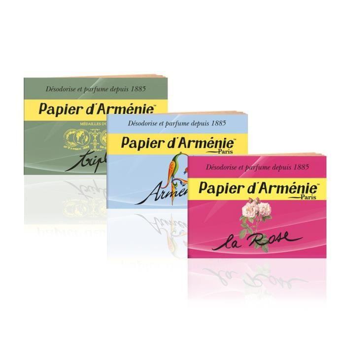 Pack Senteur Le Papier d'Arménie - Testez les 3 !