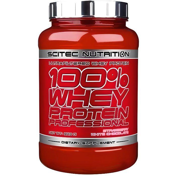 100% WHEY Professional 920 gr Scitec Nutrition (Chocolat- 920 gr)