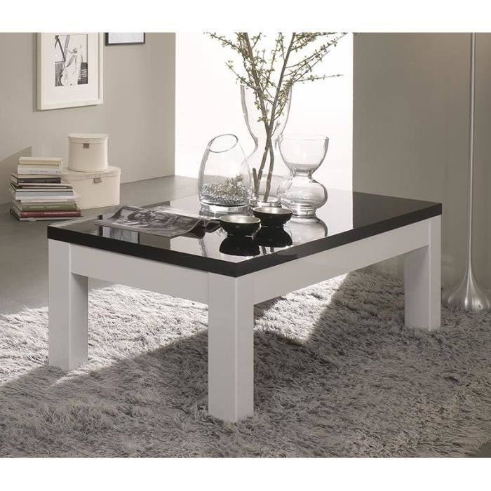 table basse laqu blanc les bons plans de micromonde. Black Bedroom Furniture Sets. Home Design Ideas