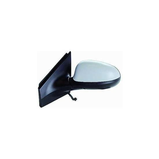 Rétroviseur extérieur droit complet convexe noir convient pour FIAT PANDA