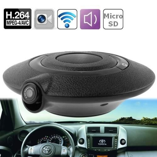 cam ra ufo voiture 0 3mp kit bluetooth voiture achat vente pack camera numerique cdiscount. Black Bedroom Furniture Sets. Home Design Ideas