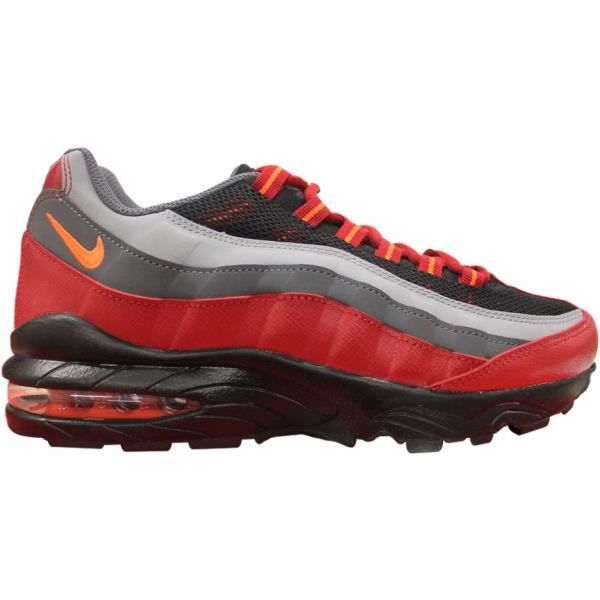 nike air max 95 junior rouge rouge rouge achat vente basket cdiscount. Black Bedroom Furniture Sets. Home Design Ideas