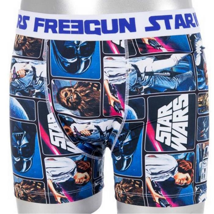 boxer star wars collection freegun achat vente boxer shorty cdiscount. Black Bedroom Furniture Sets. Home Design Ideas