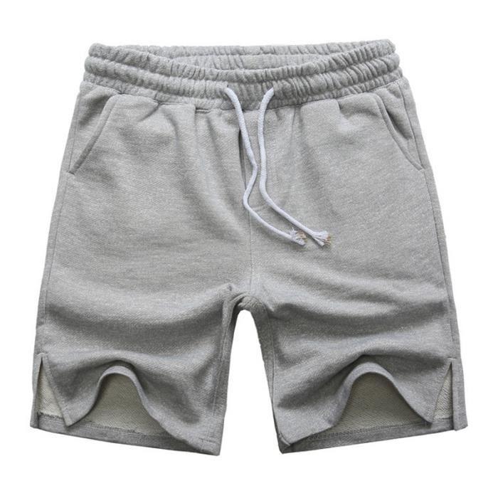 Short coton Homme baggy Sh XS Gris - Achat