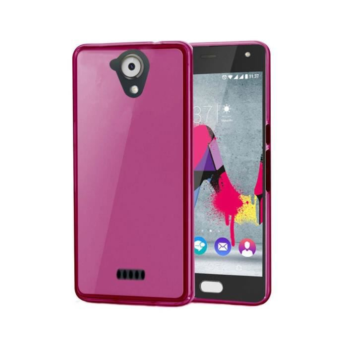 Coque wiko u feel lite etui coque tpu silicone ultra fine for Housse wiko upulse lite