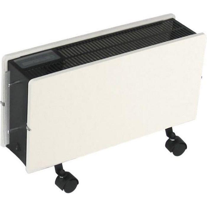 RECON. Radiateur électrique à convection Chauffage d/'appoint Thermostat Minu