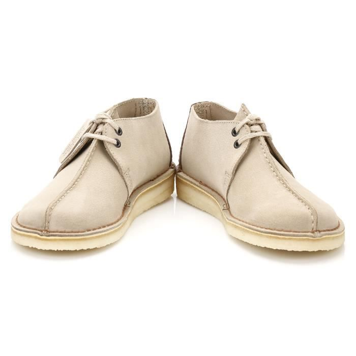 Clarks Homme Sand Daim Desert Trek Shoes-UK 12 AyfMqnYC