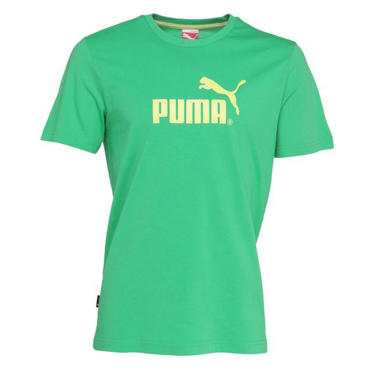 puma t shirt homme vert achat vente t shirt cdiscount. Black Bedroom Furniture Sets. Home Design Ideas