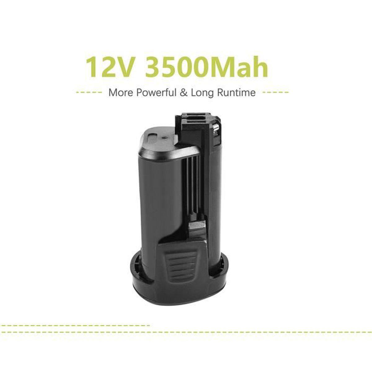 pour outils Dremel 8100 vhbw Li-Ion Batterie 2000mAh 8100 Cordless Multi-Tool comme 2 607 336 715 7.2V 2.615.080.8JA.