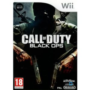 JEU WII Call of Duty Black OPS Wii