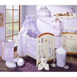 ensemble tour de lit bebe achat vente ensemble tour de lit bebe pas cher cdiscount. Black Bedroom Furniture Sets. Home Design Ideas