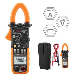 Roeam Pince Amp/èrem/étrique,HABOTEST Pince Multim/ètre Num/érique AC//DC pour Mesurer la Tension Courant AC//DC,Fr/équence,Diode,R/ésistance,Continuit/é,Multim/ètre /à Pince NCV
