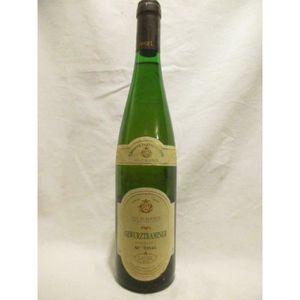 VIN BLANC gewurztraminer laugel blanc 1994 - alsace