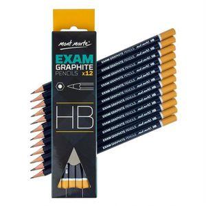 CRAYON GRAPHITE MONT MARTE Crayon HB - 12 pièces - Crayon Graphite