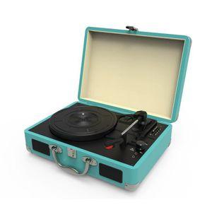 PLATINE VINYLE Platine Vinyle Tourne Disque Vintage Valise Platea