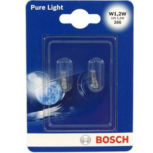 AMPOULE TABLEAU BORD BOSCH Ampoule Pure Light 2 W1,2W 12V 1,2W