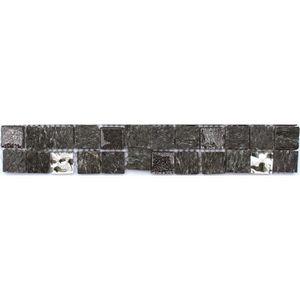 CARRELAGE - PAREMENT Listel en pate de verre et carrelage  Ures - 5 x 3