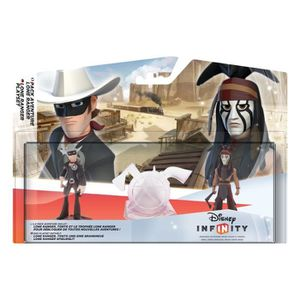 FIGURINE - PERSONNAGE DISNEY INFINITY - PACK AVENTURE LONE RANGER INF…