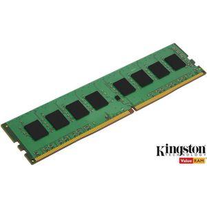 MÉMOIRE RAM KINGSTON - Mémoire PC RAM - ValueRam DDR4 - 4Go -