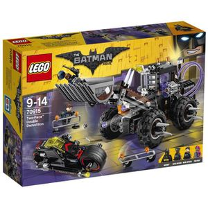 ASSEMBLAGE CONSTRUCTION LEGO® Batman Movie 70915 La Fuite de Double-Face