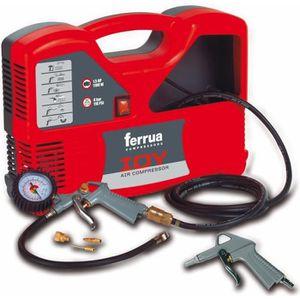 COMPRESSEUR FERRUA Compresseur d'air sans huile Idy 1.5 HP 110