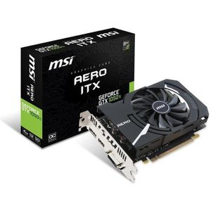 CARTE GRAPHIQUE INTERNE MSI Carte Graphique GeForce GTX 1050 TI AERO ITX 4
