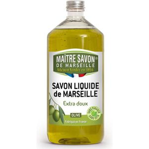 SAVON - SYNDETS MAITRE SAVON Savon liquide à l'Olive - 1 L