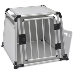 CAISSE DE TRANSPORT Luxueux Magnifique Boîte de transport pour chiens