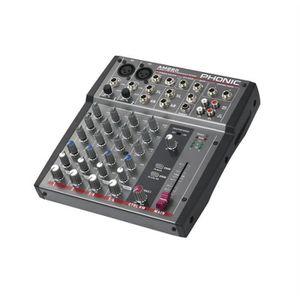 TABLE DE MIXAGE Phonic AM220 Table de mixage 6 pistes 2 canaux