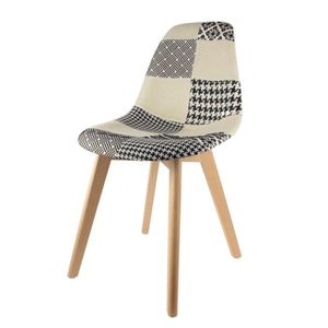 CHAISE Chaise Scandinave Patchwork