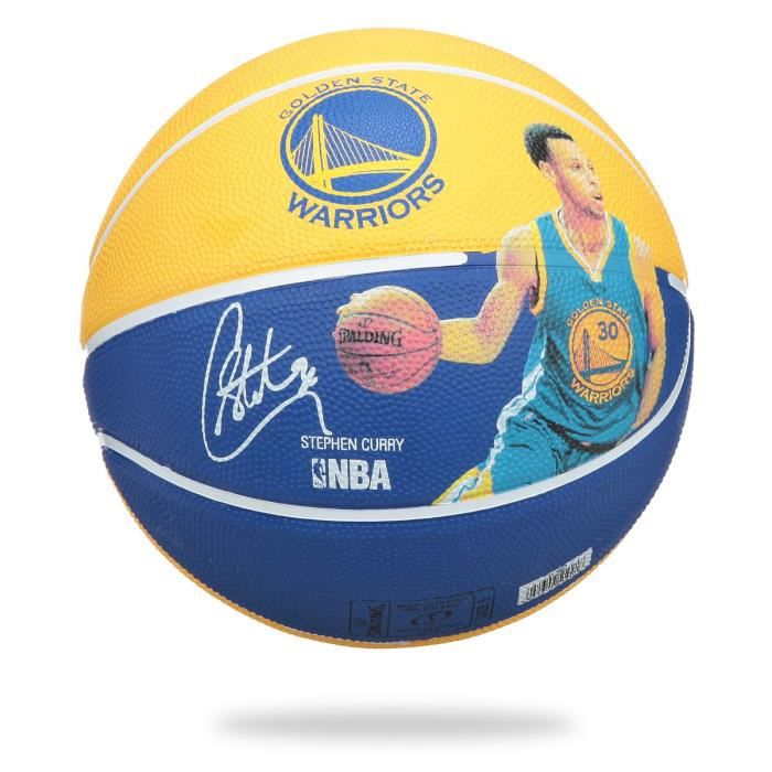 SPALDING Ballon Basket-ball NBA Player STEPHEN CURRY BKT