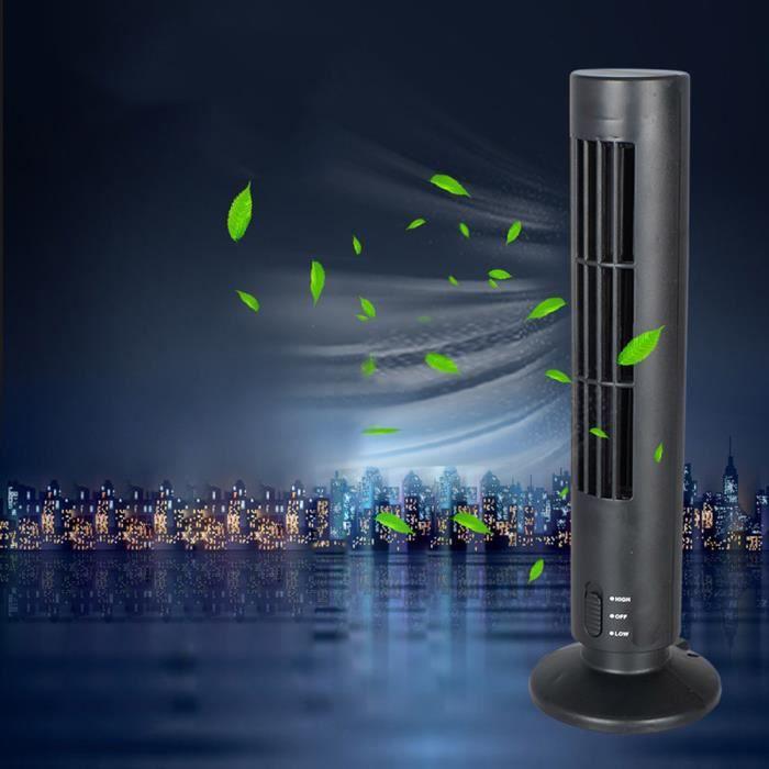 Nouveau Mini USB Portable Refroidissement Climatiseur Purificateur Tour Sans Lame Bureau Ventilateur _sco075