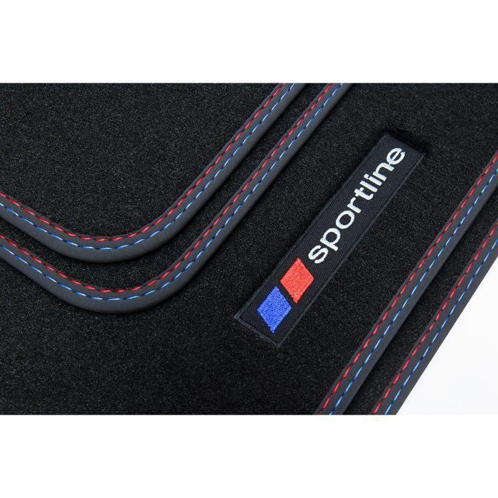 Sportline tapis de sol adapté pour BMW Série 5 F10 F11 Année 2013-01/2017