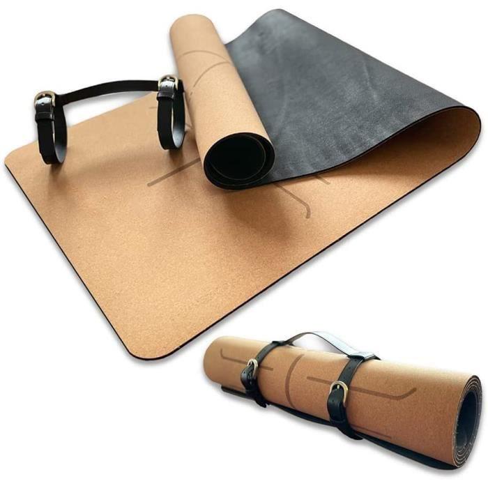 KILIGS - Tapis de yoga avec sangle - Tapis de yoga mat - Tapis de sport antid&eacuterapant - Tapis &eacutepais et &eacutecolo137