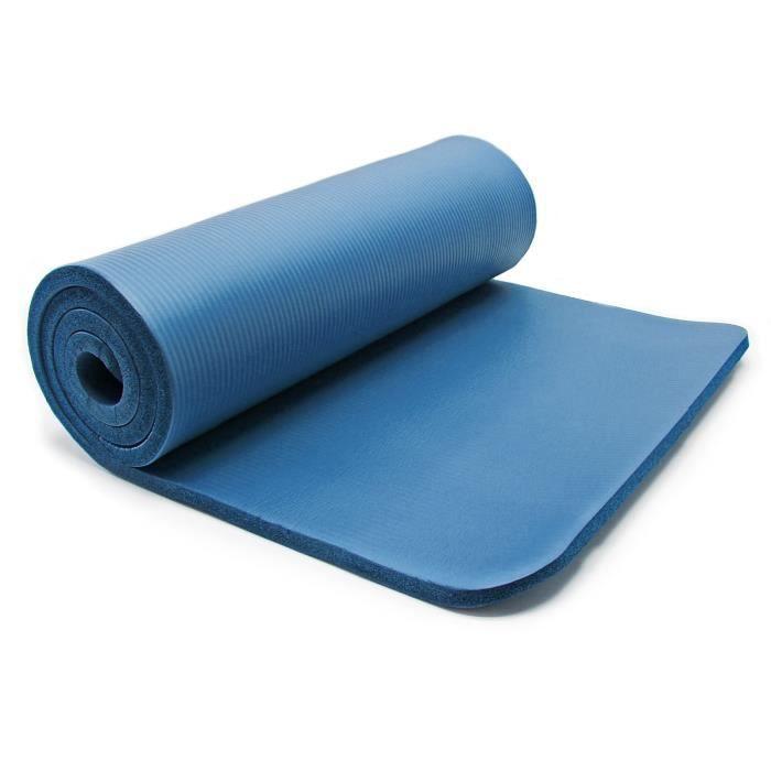 Tapis de yoga 185x80x1.5cm physio fitness aérobic gym pilates matelas antidérapante extra épais - 30310