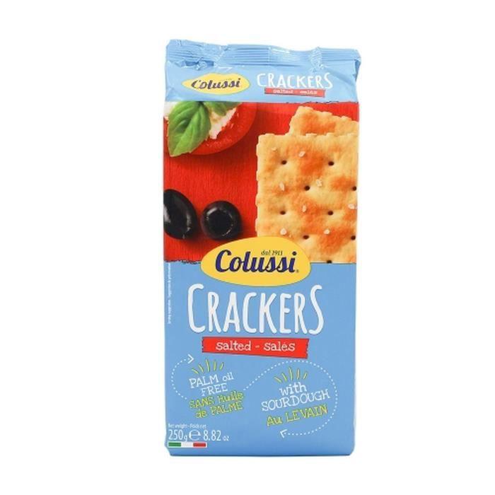 Crakers salés - Colussi - paquet 250g