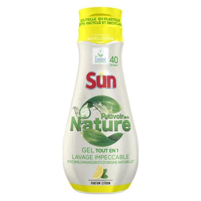 SUN Gel de lave-vaisselle senteur citron - 700ml