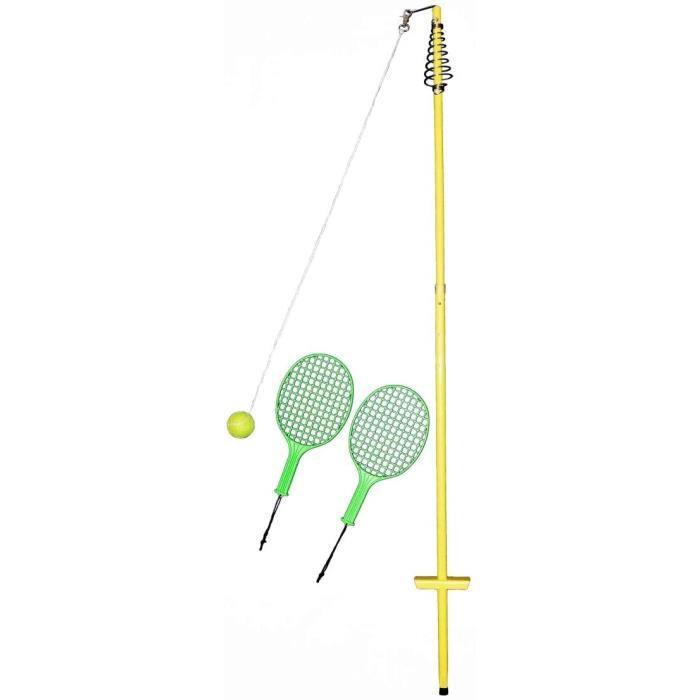 Best Sporting Lot de 4 Boules de Tennis de Table Un xes - Jaune - 150 à 165 cm A337