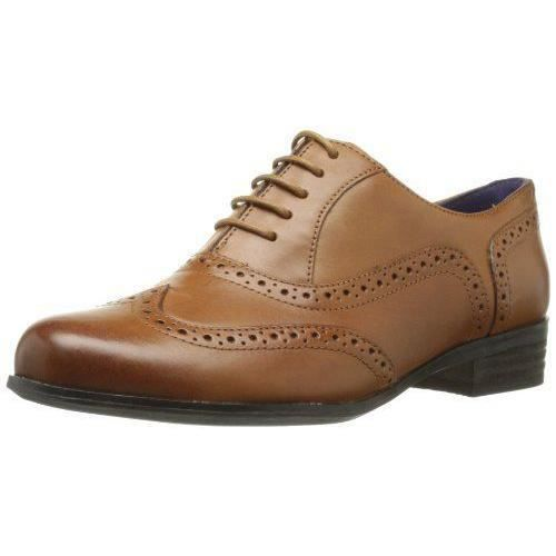 Clarks Hamble Oak, Chaussures de ville femme - Marron (Dark Tan Lea), 37.5 EU (4.5 UK) - 203506744_Dark Tan Lea