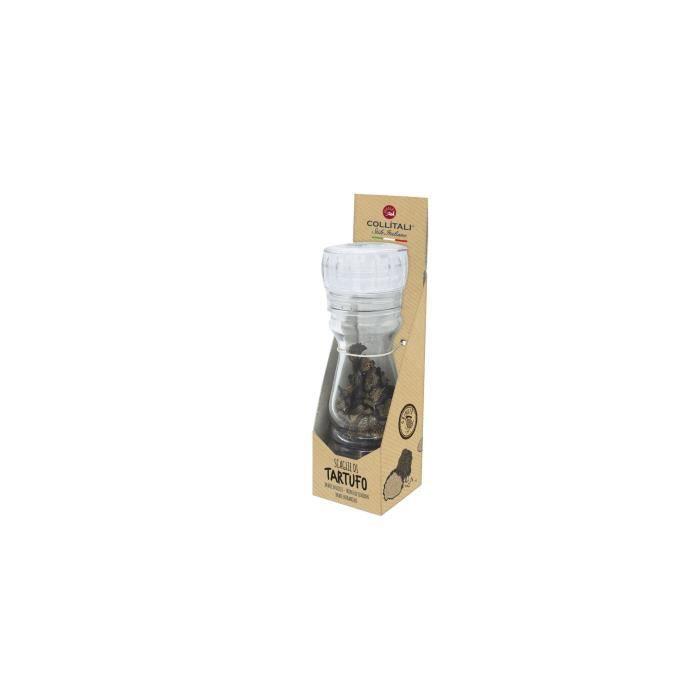 COLLITALI Moulin broyeur rechargeable lamelles truffe noire Italie - Tuber Aestivum Vitt 8 g