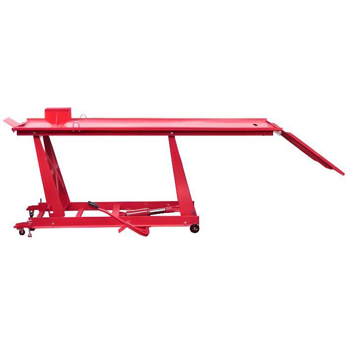 Pont élévateur pour motos Plate-forme élévatrice pour motos Bloc de montage 450 kg HB210048 -RAI