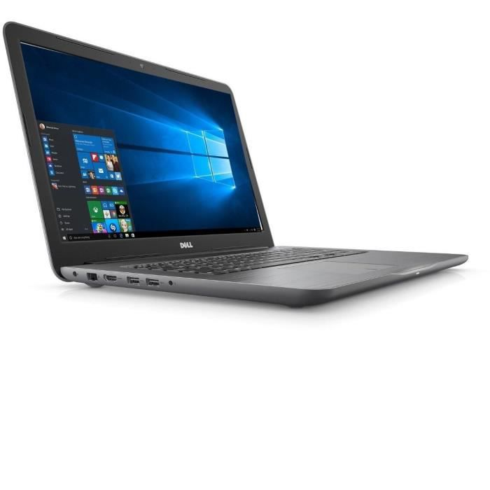 Dell pc portable inspiron 17 5767 17.3 1920 x 1080 full hd 8 go ram core i7 7500u 2.7 ghz 1 to hdd win 10 pro noir