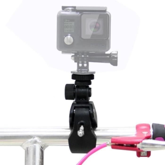 Perche - Stick - Canne Selfie - Support de guidon de vélo PULUZ pour moto avec trépied et vis pour GoPro NEW HERO / HERO7 / 6/5/5
