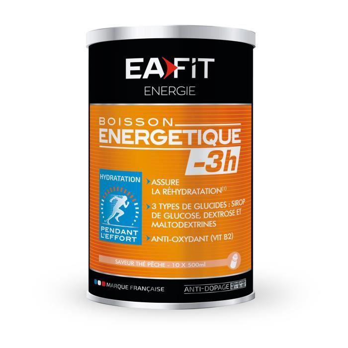 EAFIT Boisson énergétique -3H - Thé-pêche - 500 g