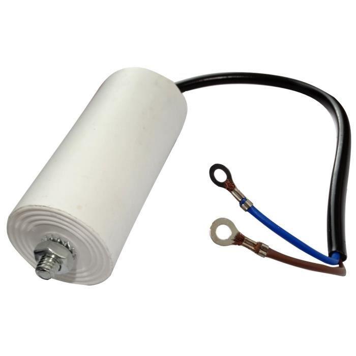 Condensateur Permanent de Travail pour Moteur 65/µF 450V pr/éc/âbl/é /Ø55x119mm /±10/% 10000h C18739 Aerzetix