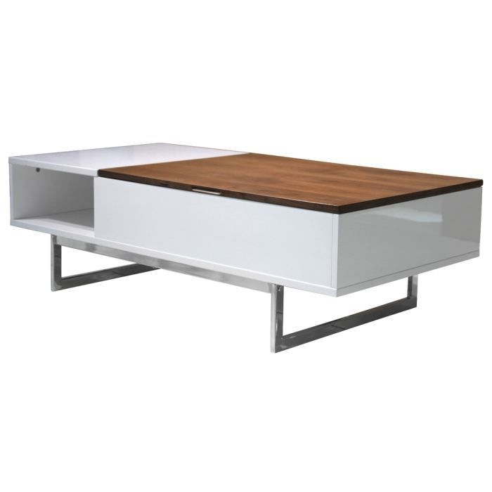 Table basse plateau relevable talia achat vente table for Table basse scandinave plateau relevable